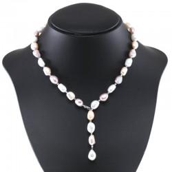 Collana perla  barocca con gancio